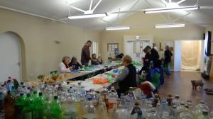 The plastic flowers workshop