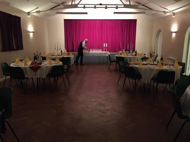 Village Hall Tables