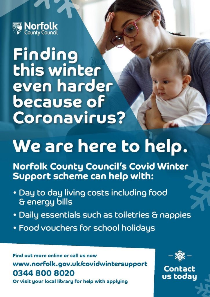 County Council Covid support details